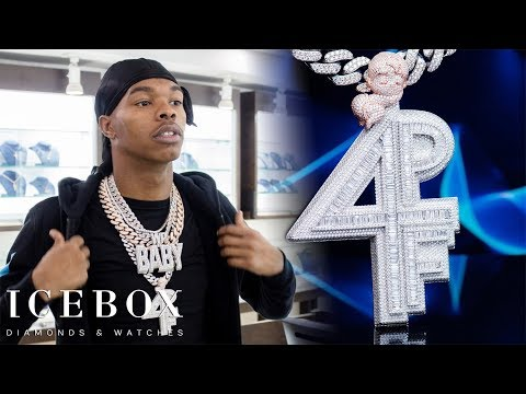 Lil Baby Has 4 Pockets Full For His 4PF Chain