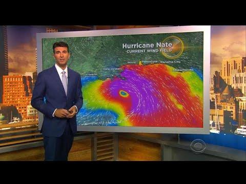Hurricane Nate latest