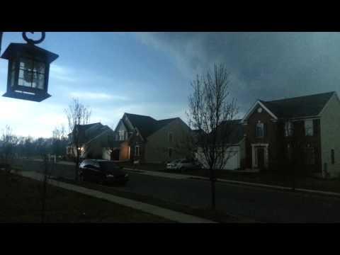 Dramatic rain, Pennsylvania rain storm,climate cha
