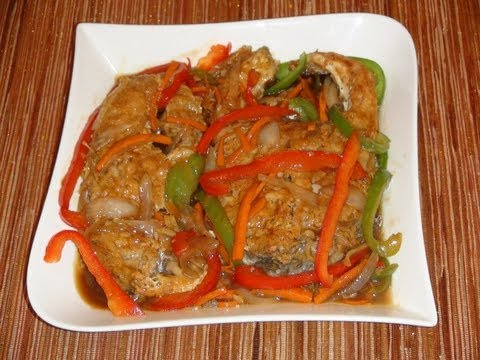 PINOY RECIPE - [ESCABECHE] MOST DELICIOUS FISH RECIPE IN THE WORLD