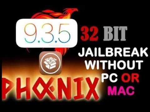 New Phoenix Jailbreak for ios 9 3 5 No PC