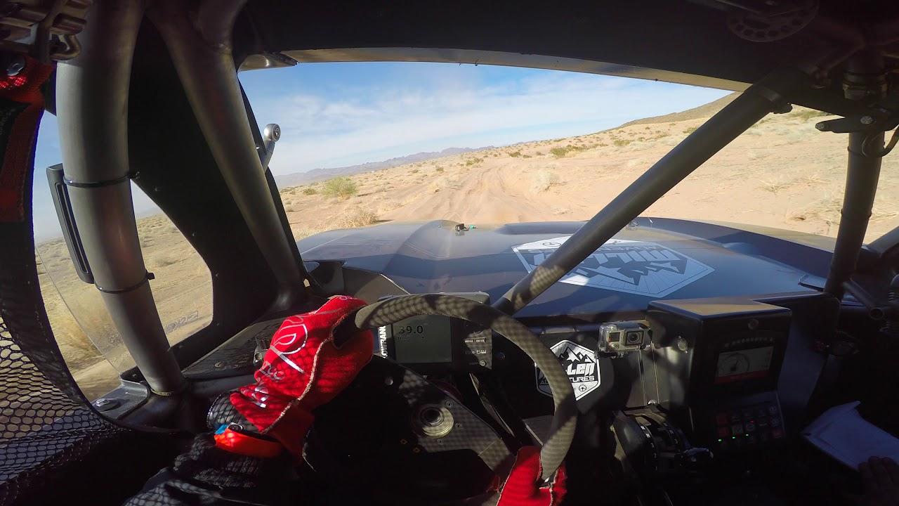 2018 Parker 425 Qualifying Raw Helmet Cam onboard