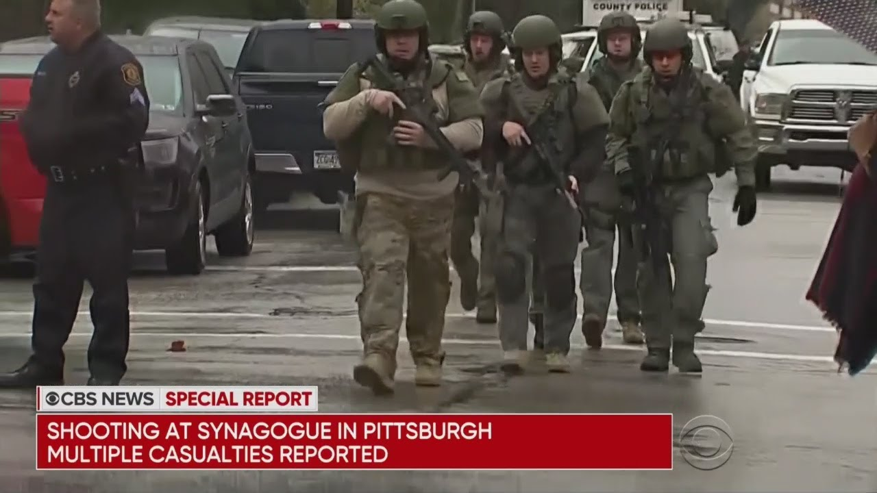 Breaking: Mass Shooting At Pennsylvania Synagogue
