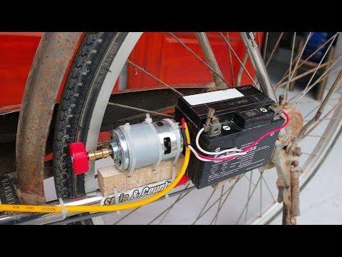 Как сделать электрический велосипед дома