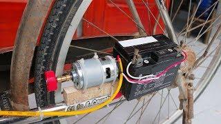 как сделать двигатель для велосипед