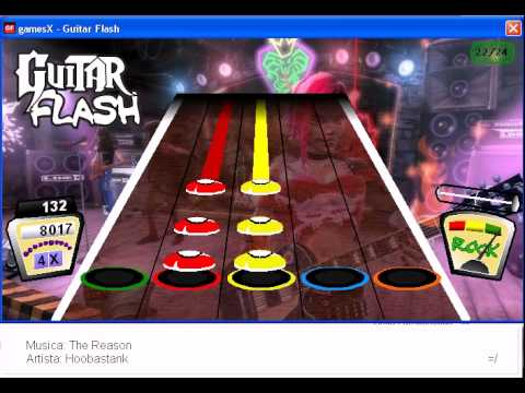 Hoobastank the reason guitar flash custom youtube