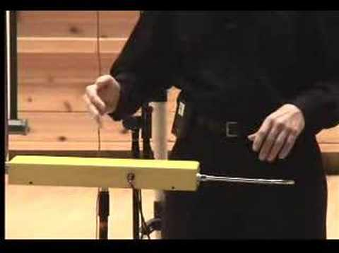 """Ghost Sonata"" Original Theremin Composition Scott Marshall"