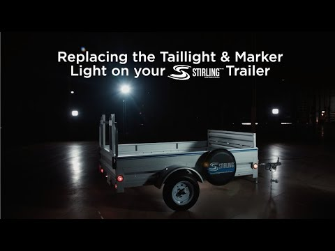 Stirling Trailers- How To Replace Your Taillight