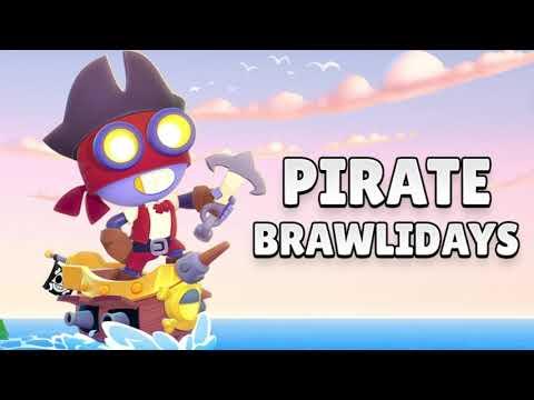 [1 HOUR] New Brawl Stars OST - Pirate Brawlidays Theme Music!