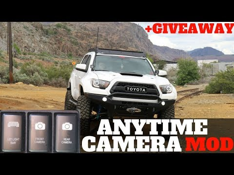 Toyota Tacoma Anytime Camera Mod! +Giveaway!