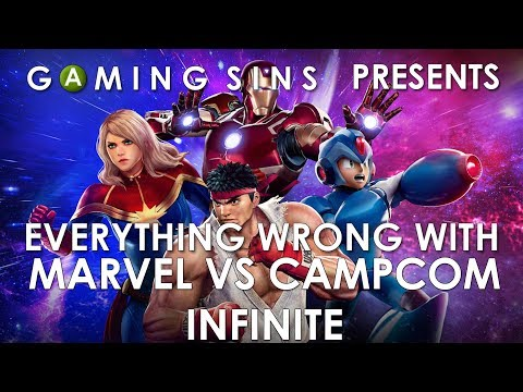 Everything Wrong With Marvel vs Capcom Infinite In 11 Minutes Or Less | GamingSins