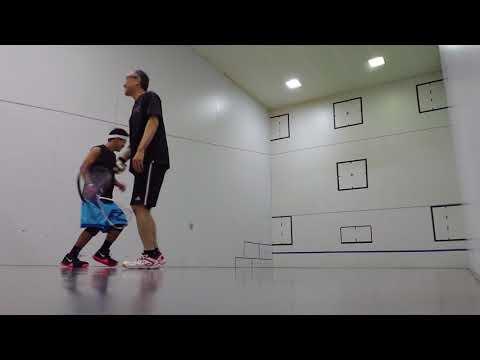 2018/8/14 コムズでラケットボール