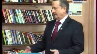 Во Всемирный день книги Георгий Шевцов передал библиотеке д. Марковское 100 книг.