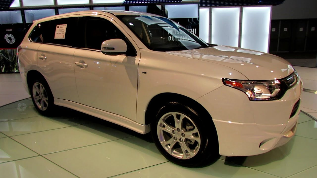2014 Mitsubishi Outlander Gt Exterior And Interior