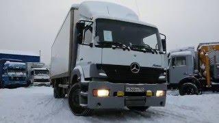видео обзор грузовик промтоварный mercedes benz atego 1823 от трак платформа