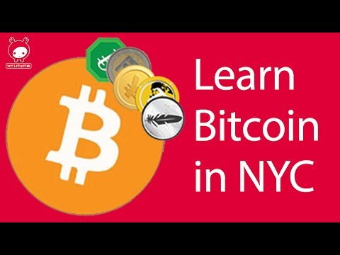 Learning Bitcoin in NYC via Live Workshops / Classes
