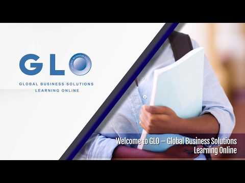 Demonstrating GLO - Global Business Solutions Learning Online