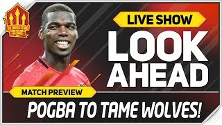 Wolves Vs Manchester United Set Pogba Free Man Utd News