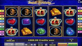 Just Jewels Deluxe Slot Machine - All Bonuses And Wild Simbol