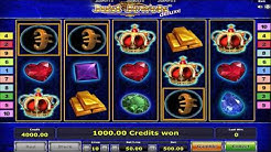 Just Jewels Deluxe Slot Machine - All Bonuses And Wild Simbol