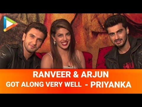 Gunday: Priyanka Chopra, Ranveer Singh & Arjun Kapoor fun interview part l
