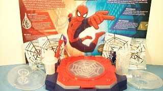 MARVEL SCIENCE SPIDER-MAN WEB CREATOR LAB by UNCLE MILTON PLAY SET TOY REVIEW