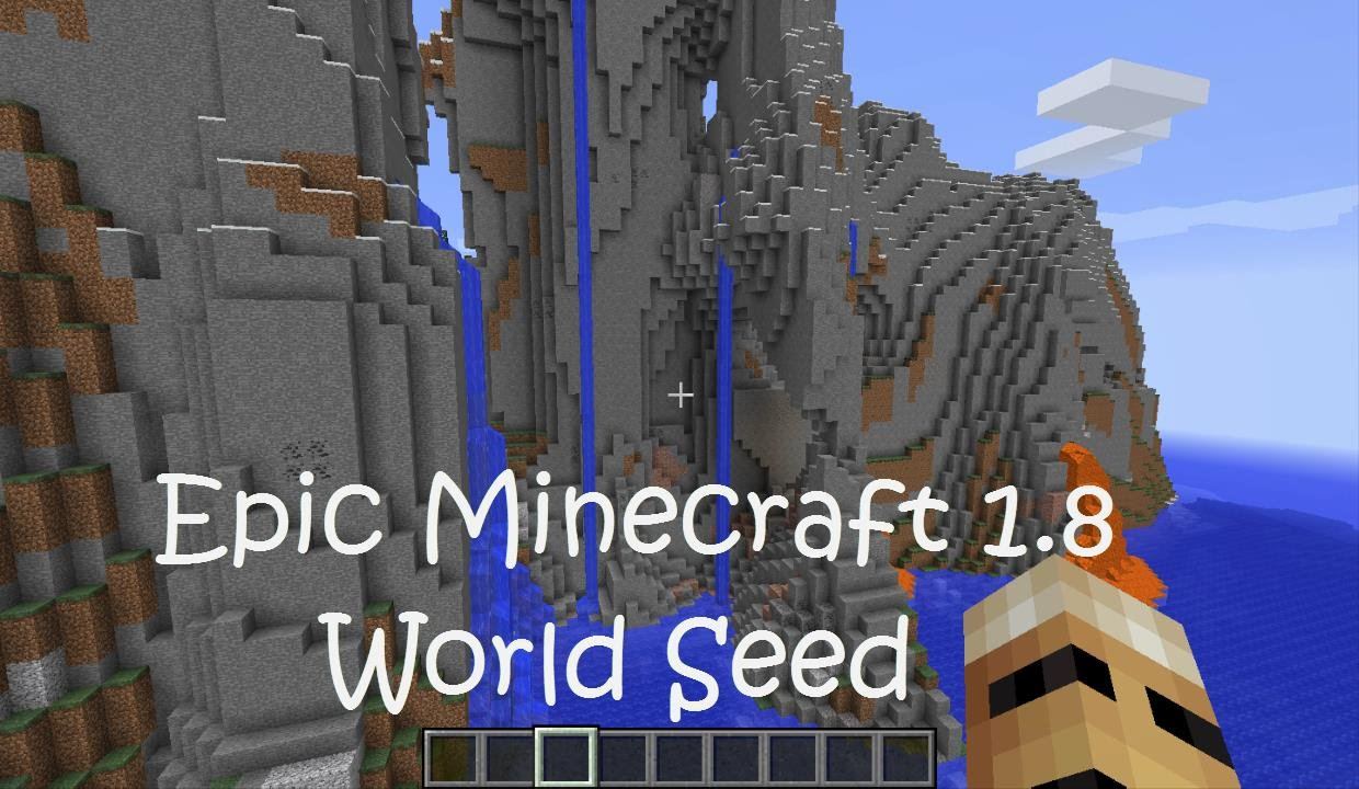 Epic Minecraft 1 8 Seed Cool Rock Formations Monuments