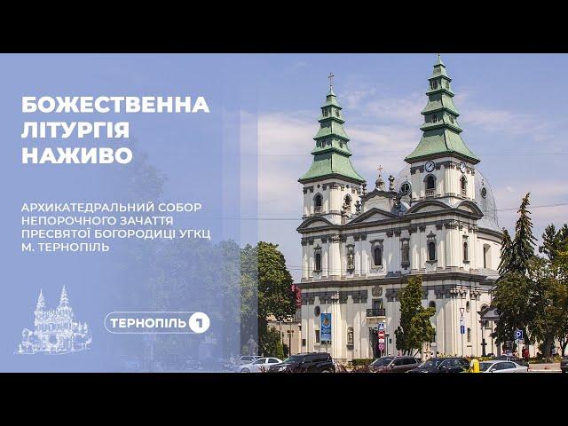 Божественна літургія з Архикатедрального Собору Неп...