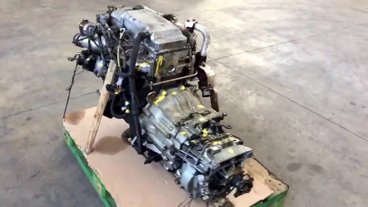 Motore Mitsubishi Canter 4M42-OAT - YouTube
