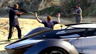 GTA V Franklin and Michael kills Steven Haines