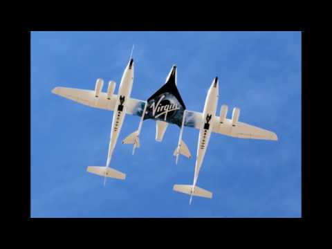 Virgin Galactic's SpaceShipTwo past the sound barrier