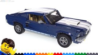 Baixar LEGO Creator 1967 Ford Mustang review! 10265