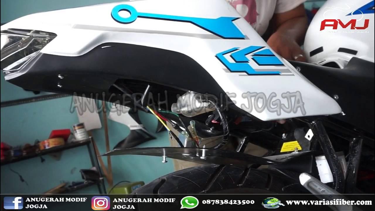Tutorial Pemasangan Body All New Cb150r Model Ninja Fi Youtube Cb 150r Streetfire Honda Racing Red Kudus