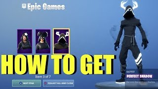 How To Get Shadow Rising pack Fortnite (Shadow Rising Pack Gameplay) Skully, Perfect wings