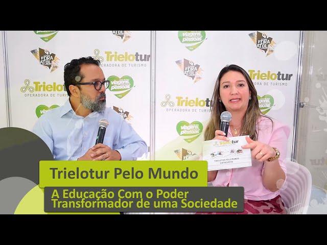 A EDUCAÇÃO COM O PODER TRANSFORMADOR DE UMA SOCIEDADE COM PROF. MAX WADA - TRIELOTUR PELO MUNDO