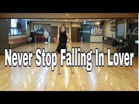 Never Stop Falling In Love Rumba Ez Line Dance (Ultra Beginner)