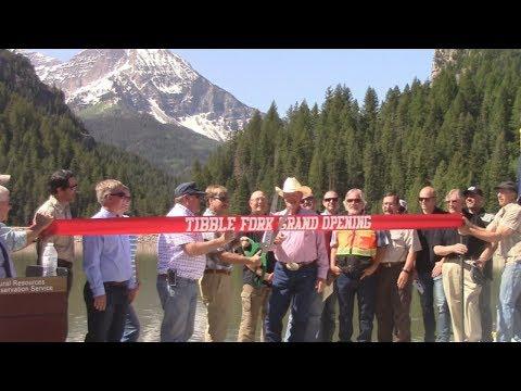 Tibble Fork Reservoir - Fish, Kayak, Jeep, ATV - American Fork Canyon - Utah County, UT