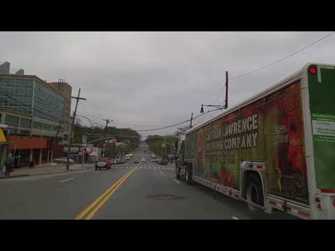 Driving from Riverdale in The Bronx to Yonkers,New York