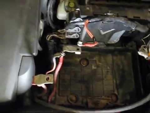 Renault Megane II глючит электрика, не заводится
