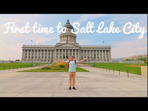 First Time to Salt Lake City!