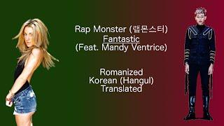 Rap Monster - Fantastic (ft. Mandy Ventrice) | Color Coded Lyrics
