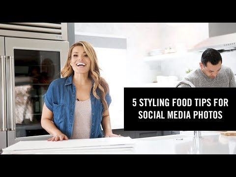 5 Food Styling Tips for Photos on Social Media