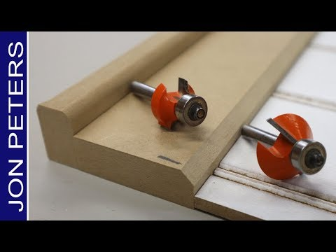 My Two Must Have Router Bits For Classic Wainscot Chair Rail Design
