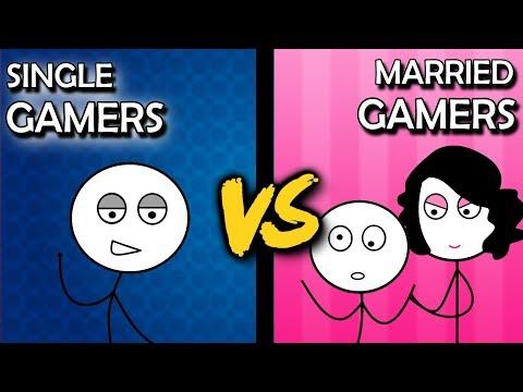 Single Gamers VS Married Gamers