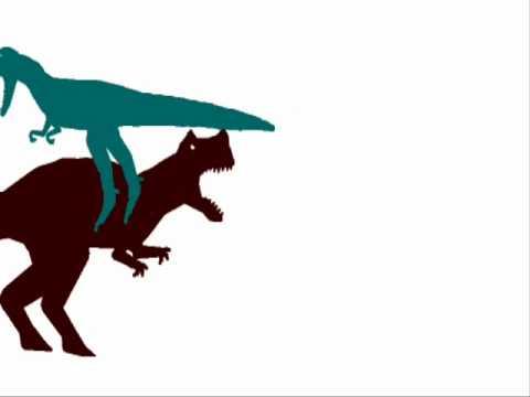 JBA - Nanotyrannus vs Ceratosaurus