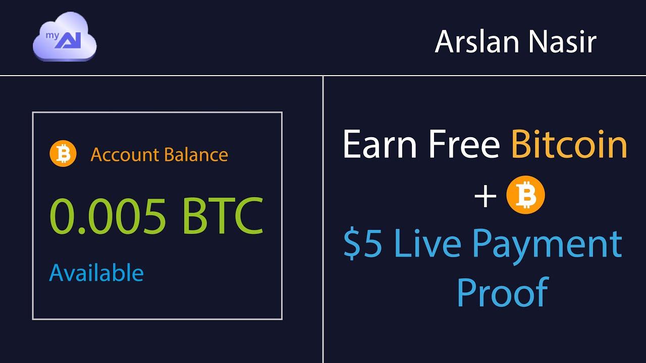 Myai.io New Free Bitcoin Earning Site 2020 - Earn Free Bitcoin 5 ...