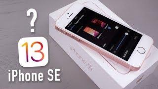 Как работает iOS 13 Beta 1 на iPhone SE?