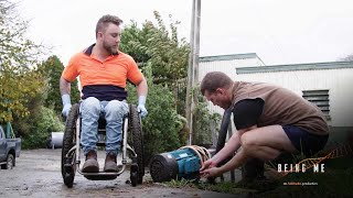 Farming from a wheelchair (Being Me: Jack)