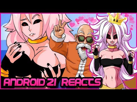 Android 21 Reacts To Majin Buubs (DBZ Parody) - Super Crown Meme!!