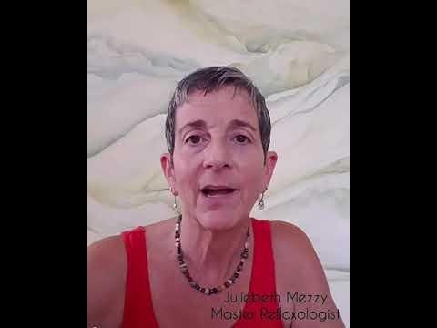 JulieBeth Mezzy speaks about how she got started in reflexology
